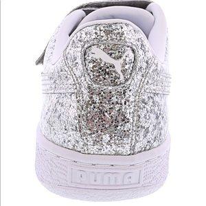 Puma Shoes - PUMA Basket Strap Glitter Women's Sneakers